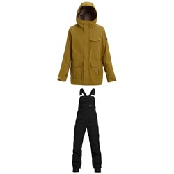 Burton Runestone Jacket + Burton Avalon Bib Pants - Women's