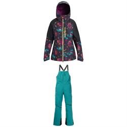 Burton AK 2L GORE-TEX Upshift Jacket + Burton AK 2L GORE-TEX Kimmy Bib Pants - Women's