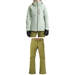 Burton AK 2L GORE-TEX Upshift Jacket ​+ Burton AK 2L GORE-TEX Summit Insulated Pants - Women's