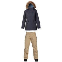 Burton Hazel Jacket ​+ Burton Society Pants - Women's