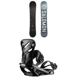 Salomon Sight X Snowboard + Salomon Rhythm Snowboard Bindings 2020