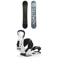 Salomon Sight X Snowboard + Union Flite Pro Snowboard Bindings 2020