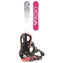 Roxy Glow Snowboard + Classic Snowboard Bindings - Women's 2021