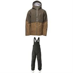 Flylow Quantum Pro Jacket + Baker Bibs