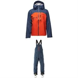 Flylow Cooper Jacket + Smythe Bibs