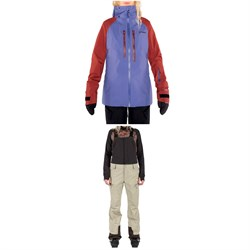 Armada Resolution GORE-TEX 3L Jacket ​+ Highline GORE-TEX 3L Bibs - Women's