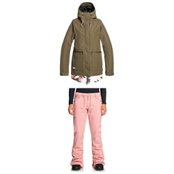 DC Riji Jacket ​+ Viva Pants - Women's