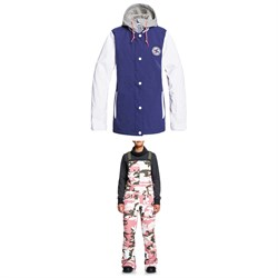 DC DCLA Jacket ​+ DC Collective Bibs - Women's