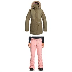 DC Panoramic Jacket ​+ DC Viva Pants - Women's