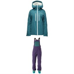 Flylow Avery Jacket ​+ Flylow Sphinx Bibs - Women's