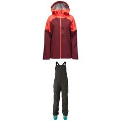 Flylow Vixen 2.1 Coat + Foxy Bibs - Women's