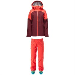 Flylow Vixen 2.1 Coat ​+ Donna 2.1 Pants - Women's