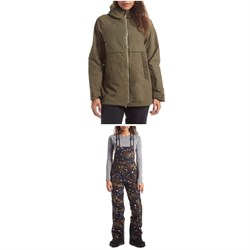 Holden Rowen Fishtail Jacket ​+ Sierra Bibs - Women's