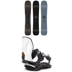 Arbor Crosscut Rocker Snowboard ​+ Arbor Cypress LTD Snowboard Bindings 2020