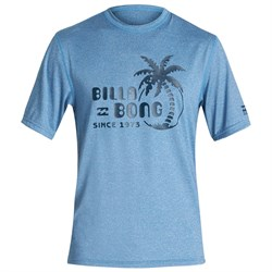 Billabong Social Club Loose Fit Short Sleeve Surf Shirt