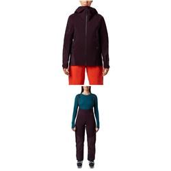Mountain Hardwear High Exposure GORE-TEX C-Knit Jacket + Bibs - Women's