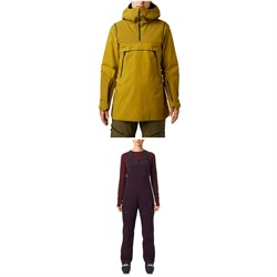 Mountain Hardwear Boundary Line GORE-TEX Insulated Anorak ​+ Insulated Bibs - Women's