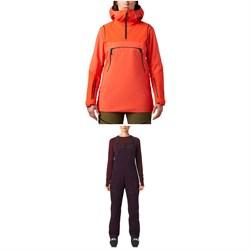 Mountain Hardwear Boundary Line GORE-TEX Insulated Anorak + Insulated Bibs - Women's