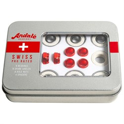Andale Swiss Tin Box Kit Skateboard Bearings