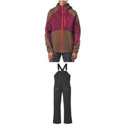 Outdoor Research Hemispheres Jacket ​+ Outdoor Research Hemisphere Bibs - Women's