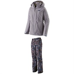 Patagonia 3-in-1 Snowbelle Jacket ​+ Patagonia Insulated Snowbelle Pants - Women's