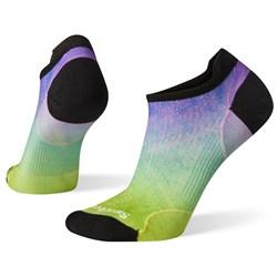 Smartwool PhD® Run Ultra Light Ombre Print Micro Socks - Women's