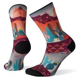 Smartwool PhD® Outdoor Light Print Crew Socks - Women's