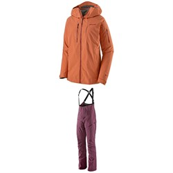 Patagonia PowSlayer Jacket ​+ Patagonia PowSlayer Bib Pants - Women's