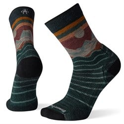 Smartwool PhD® Outdoor Light Front Range Print Crew Socks