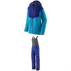Patagonia Snowdrifter Jacket + Patagonia Snowdrifter Bibs - Women's