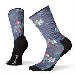 Smartwool Hike Light Under The Stars Print Crew Socks - Women's