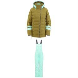Spyder Puffer GORE-TEX Infinium Jacket + Spyder Terrain GORE-TEX Bib Pants - Women's