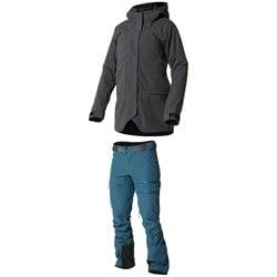 Trew Gear Hot Toddy Jacket + Trew Gear Powder Pantaloons - Women's