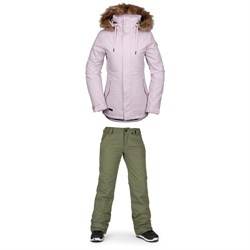Volcom Fawn Insulated Jacket ​+ Volcom Frochickie Insulated Pants - Women's
