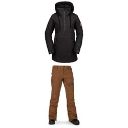 Volcom Fern Insulated GORE-TEX Pullover Jacket ​+ Volcom Knox Insulated GORE-TEX Pants - Women's