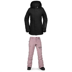 Volcom 3D Stretch GORE-TEX Jacket ​+ Volcom Knox Insulated GORE-TEX Pants - Women's