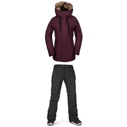 Volcom Shadow Insulated Jacket ​+ Volcom Frochickie Insulated Pants - Women's