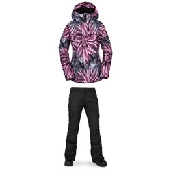 Volcom Bolt Insulated Jacket + Volcom Bridger Insulated Pants - Women's