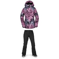 Volcom Bolt Insulated Jacket ​+ Volcom Species Stretch Pants - Women's