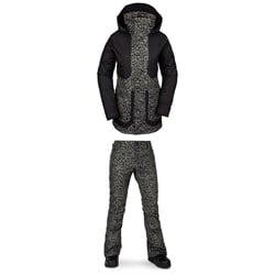 Volcom Leeland Jacket + Volcom Battle Stretch Pants - Women's