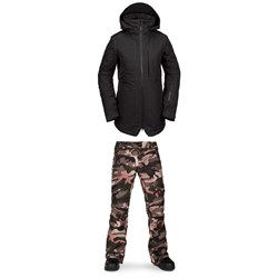 Volcom Iris 3-in-1 GORE-TEX Jacket ​+ Aston GORE-TEX Pants - Women's