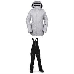 Volcom Leda GORE-TEX Jacket + Elm GORE-TEX Bib Overalls - Women's