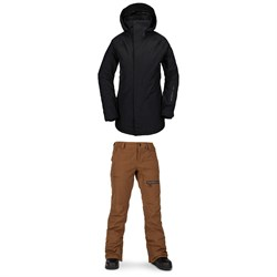 Volcom Leda GORE-TEX Jacket ​+ Knox Insulated GORE-TEX Pants - Women's