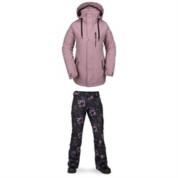 Volcom Shrine Insulated Jacket ​+ Bridger Insulated Pants - Women's