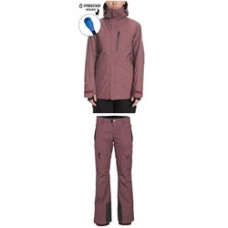 686 GLCR Hydrastash Reservoir Insulated Jacket ​+ 686 GLCR Geode Thermagraph Pants - Women's