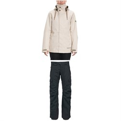 686 Smarty 3-in-1 Spellbound Jacket ​+ 686 Smarty 3-in-1 Cargo Pants - Women's