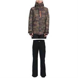 686 GLCR Hydra Insulated Jacket ​+ 686 GLCR Geode Thermagraph Pants - Women's