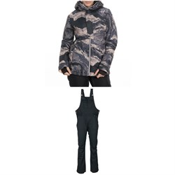 686 Rumor Insulated Jacket ​+ 686 Black Magic Insulated Bibs - Women's
