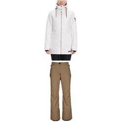 686 Aeon Insulated Jacket + 686 Standard Pants - Women's