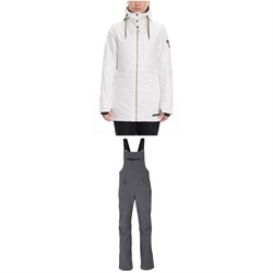 686 Aeon Insulated Jacket + 686 Gossip Stretch Softshell Bibs - Women's